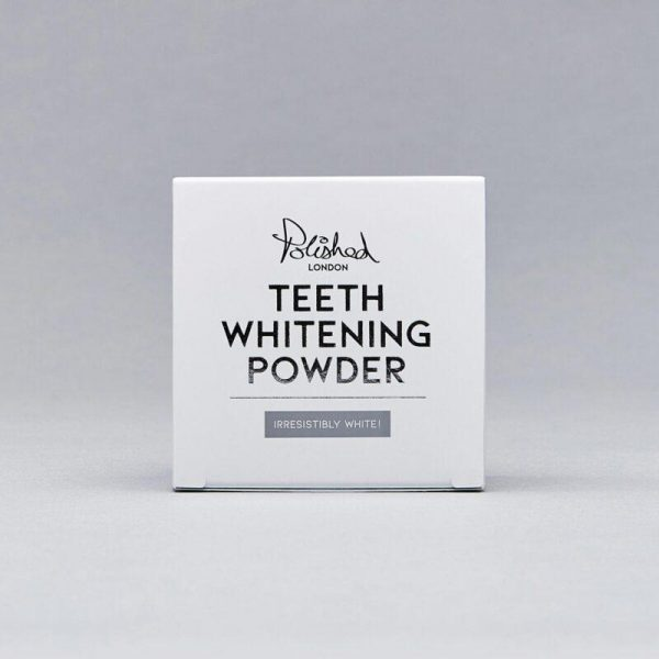 teeth whitening powder polished london